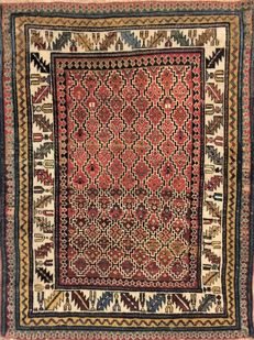 Wondeful antique Shirvan Kuba, 142 x 108