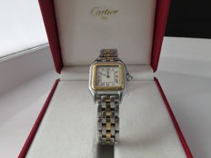 Cartier - Panthere staal/18k - ref; 1057917 - Donna - 1980-1989