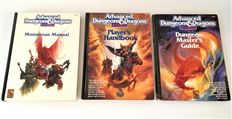 Large collection of (Advanced) Dungeons and Dragons books