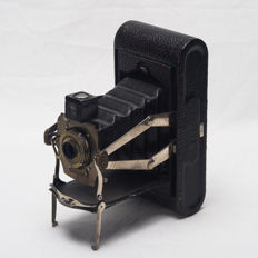 KODAK folding 1A simple viewfinder - black bellows