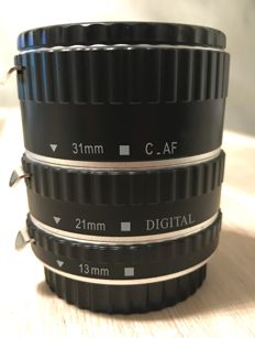 AF Extension Tube Set for Canon EOS Camera EF EF-S Lens