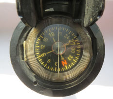 Second World War English bridge range sighting compass - Ww2