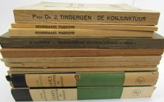 A collection of 13 Dutch Socialist & Marxist publications   - 13 volumes - 1920 / 1954