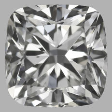 1.00ct  Cushion Modified  Brilliant , G VS2  GIA , Serial# M-BJ-18110