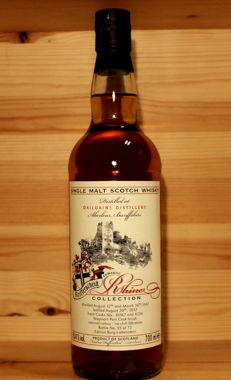 Dailuaine 1997/2012 single malt scotch whisky, 70cl, 55.4%vol. Romantic Rhine Collection, Germany