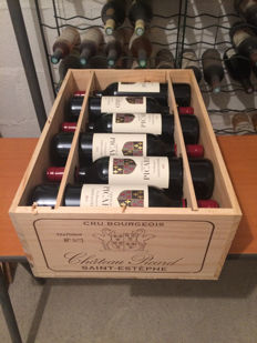 2013 Château Picard, Cru Bourgeois de Saint-Estèphe (Bordeaux Left Bank) - 12 bottles