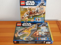 Starwars - 7877 + 7928 - Naboo Starfighter (Special Edition) + The Battle of Naboo