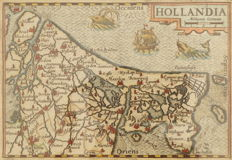 Holland; Petrus Bertius - Hollandia - ca. 1620
