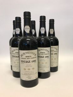 1995 Vintage Port Burmester - 6 bottles