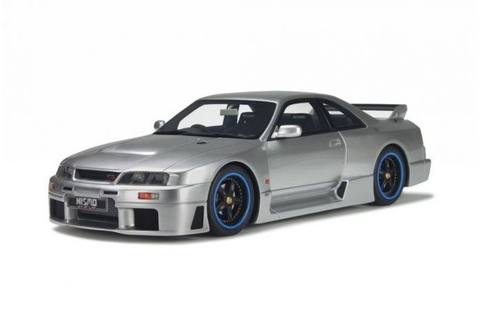 Otto Mobile - Scale 1/18 - Nissan Skyline R33 Nismo GT-R LM 1996 - Silver