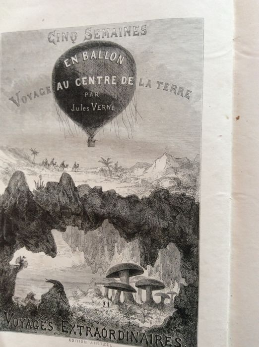 a teaching of things about earth and life in voyage au centre de la terre by jules verne