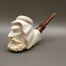 "Figurative meerschaum pipe ""Nobleman"" - Turkey, ca. 1970"