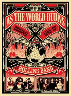 Shepard Fairey (OBEY) - As The World Burns