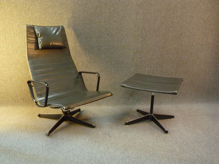 Charles Ray Eames For Herman Miller Eames Aluminum Group Lounge