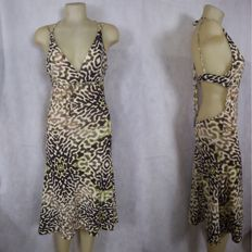 Just Cavalli – dress with deep neckline MADE IN ITALY