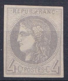 France 1870 – Yvert 41B signed Roumet