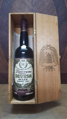 1957 Liqueur Wine Devesa - Spain - bottled in 1983