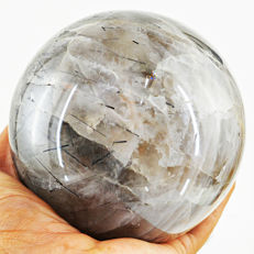 "Top Big Rutile Quartz ""healing ball"" - 100 mm - 1560 gm"