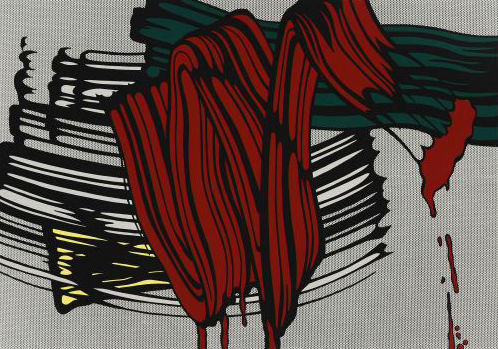 Roy Lichtenstein - Big Painting No. 6 (Serigraph)