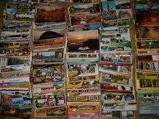 Approx. 650 Dutch postcards, from the 1960s to the present day, in good circulated condition