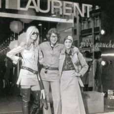 Unknown/Grazia France - Yves Saint Laurent , LouLou and Betty Catroux, London, 1969