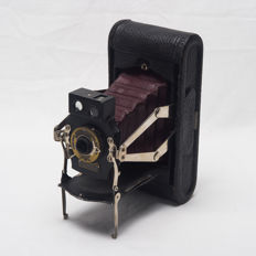 KODAK folding 1A double viewfinder - red bellows