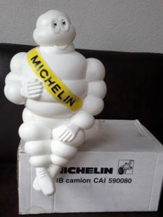 Michelin Bibendum - original figure in original box with lighting - 48 cm