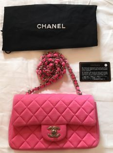 Chanel - Jersey Classic Flap Bag