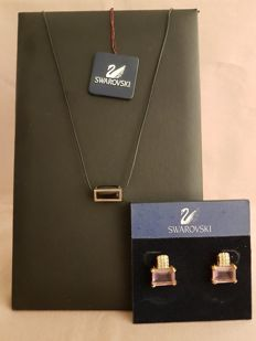 Swarovski - Necklace and earrings