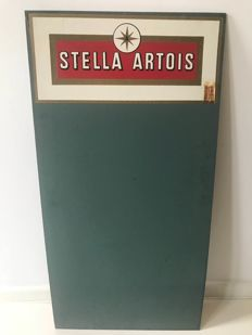 Stella Artois chalk board with original tax stamp!