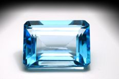 Swiss Blue Topaz – 22.34 ct