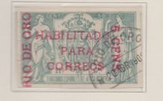 Spanish Colonies 1873/1915 - Collection of terrestrial and fiscal Mail