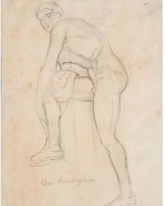 Pierre Ambrogiani (1907-1985) - study of body