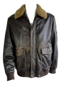 Arma - aviator jacket - with fur collar
