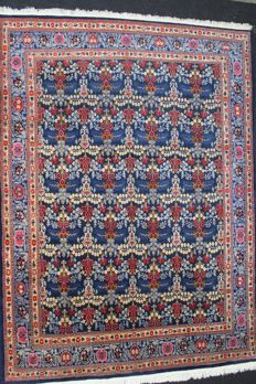 Exceptional, very beautiful MOUD carpet, IRAN, Hand-knotted, 20th, 380 x 275 cm
