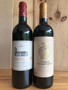 1999 Château Lagrange, Saint-Julien Grand Cru Classé and 2004 Château Gruaud Larose, Saint-Julien Grand Cru Classé - 2 bottles 75cl.