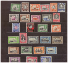 British colonies - selection of stamps