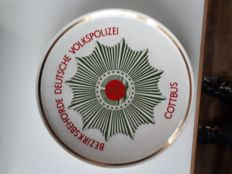 GDR plate in case Cottbus police