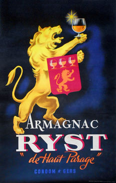 Anonymous - Armagnac Ryst de Haut Parage - 1946