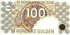 Netherlands - 2 x 100 guilders 1992 little owl - mevius 124-1b and 124-2a