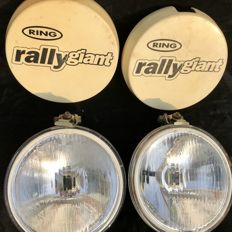 Large Rally lights - Ring - England circa 1980