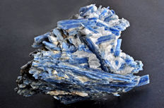 Intense blue Kyanite crystals on matrix - 15.5 X 12.5 X 6.8 cm - 882 gm