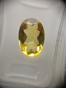 Citrine Yellow 2.47 ct    No Reserve Price