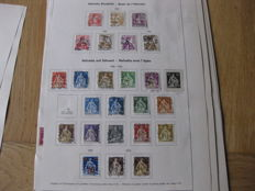 Switzerland 1880/1940 - Collection of stamps and 70 letters