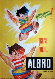 Anonymous - For bread... Albro ¡no tiene rival! -Year 1960
