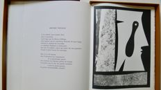 Andrée Caraire - Telle la feuille et l'arbre. Illustrations out of text of André Villers and linocuts of Max Papart - 1971