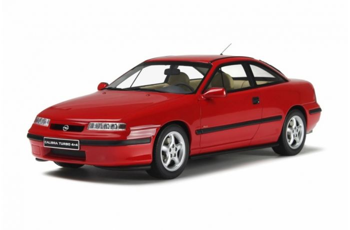 Otto Mobile - Scale 1/18 - Opel Calibra Turbo 4x4 1996 - Red