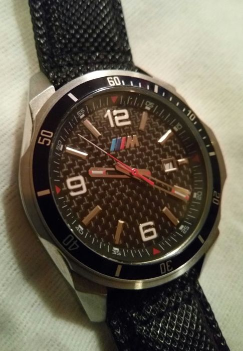 bmw m motorsport montre carbone homme quartz made in suisse 2016 catawiki. Black Bedroom Furniture Sets. Home Design Ideas