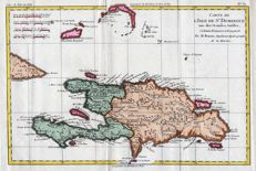 Haiti, Dominican Republic; G.T. Raynal / Rigobert Bonne - Carte de l'Isle de St. Domingue - 1780