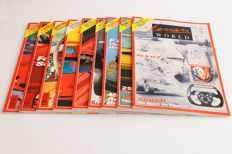 Lot of 9 Ferrari World Magazines